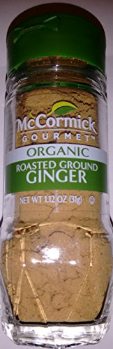 McCormick Gourmet Organic Roasted Ground Ginger, 1.12 oz (Mccormick Ground Ginger)