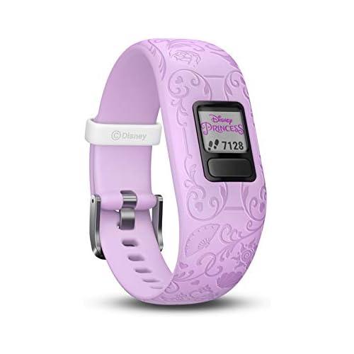 chollos oferta descuentos barato Garmin Vívofit Jr 2 Monitor de actividad para niños Disney Princess Purple Banda ajustable Edad 4