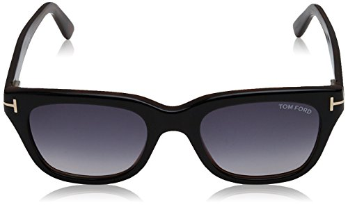 Black FT0237 Grey Sonnenbrille Snowdon Tom Ford wPHzqI6