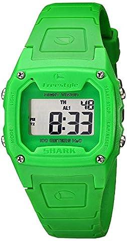 Freestyle Unisex FS81263 Shark Classic Green Polyurethane Watch (Freestyle Shark Green Watch)