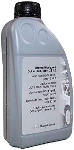 Original Bremsflüssigkeit Von Mercedes Benz A0009890807 13 Dot 4 Plus Blatt 331 0 Auto