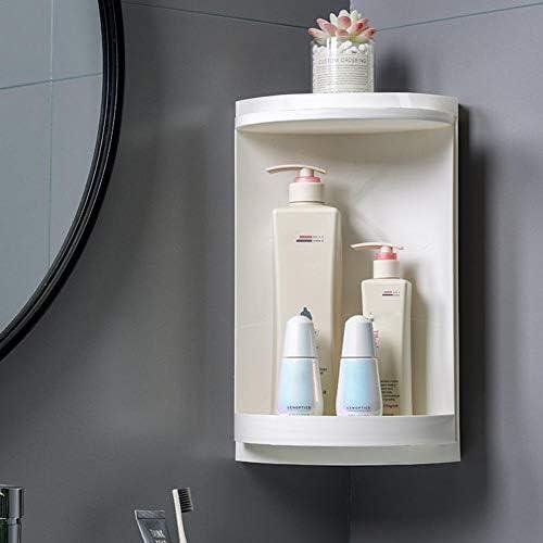 Blentude Badezimmer Eckregal Wandlagerung-Eckduschregal für die Küche