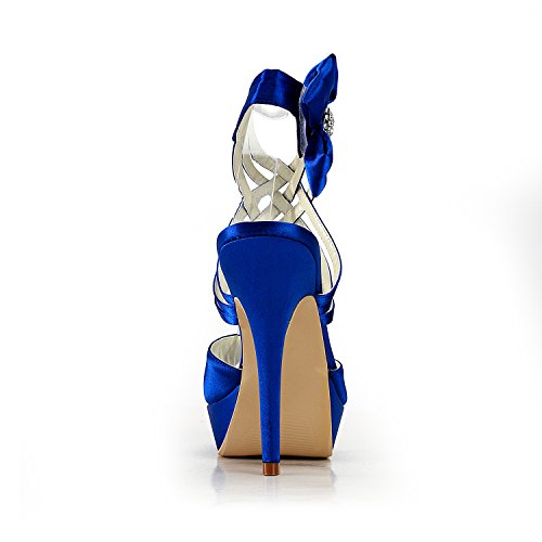 Centimetri 13 Per Tallone Blu Minitoo Donne blu Pompe xZX4wnAY