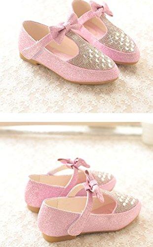 ... OPSUN Mädchen Sandalen Prinzessin Kinderschuhe Sandalen Sandaletten  Kleinkinder Halbschuhe Sandalette Ballerinas Rosa