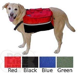 [해외]퀵 릴리스 개 배낭 - 초대형 빨간색/Quick-Release Dog Backpack - Extra Large Red