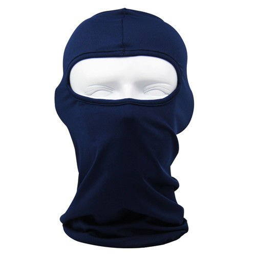 Bicycle Ski (ULTRA THIN Lycra SKI BIKE Bicycle FACE MASK Sports FOOTBALL HELMET - BALACLAVA(Royal Blue))