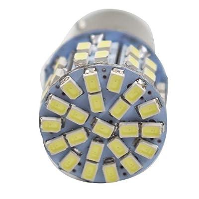 WFLNHB 10Pack Super Bright 6000K White 1157 BAY15D 7528 1016 1034 50-SMD 1206 LED Bulbs Car Rear Turn Signal Lights Interior RV Camper Parking Light Bulb 12V: Automotive