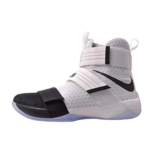 new product 6618d f0a60 Nike Men s Lebron Soldier 10 SFG White Black - Black: Buy ...
