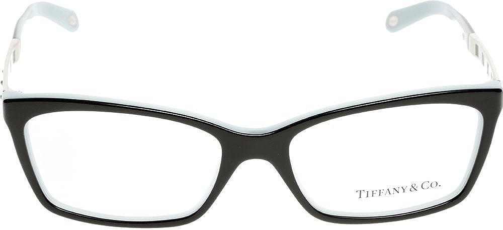 25e2b199cfef Amazon.com  Tiffany Optical 0TF2103B Full Rim Rectangle Woman Sunglasses   Clothing