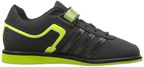 adidas Performance Herren Powerlift.2 Trainer Schuh Dunkelgrau / Solar Gelb / Schwarz