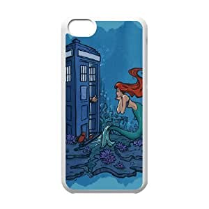 Yo-Lin case Style-3 - TV Doctor Who Series Pattern For Iphone 5c