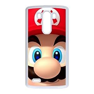 Super Mario Bro theme pattern design For LG G3 Phone Case