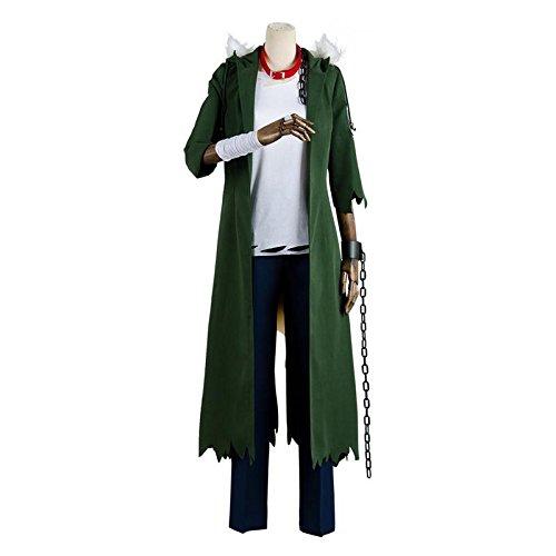 [NoveltyBoy My Boku no Hero Academia Katsuki Bakugou Halloween Cosplay Costume Coat Outfit] (Noodle Cosplay Costume)
