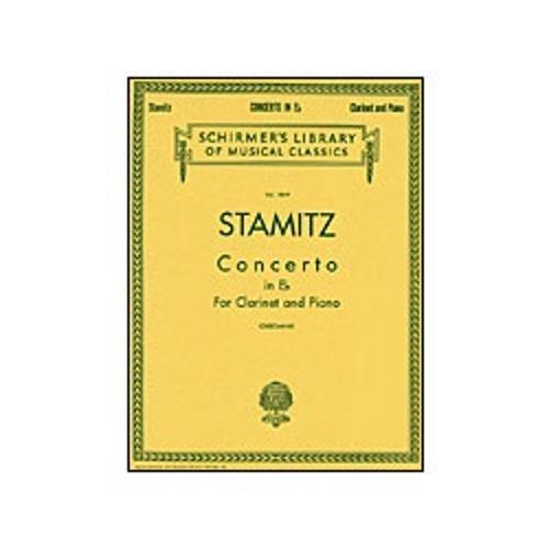 - G. Schirmer Stamitz Concerto in Eb (Clarinet/Orchestra/Piano)