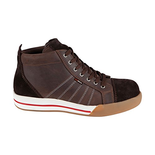 Redbrick Color Red High Brown sicurezza Scarpa Taglia 48 Brick di SwraS
