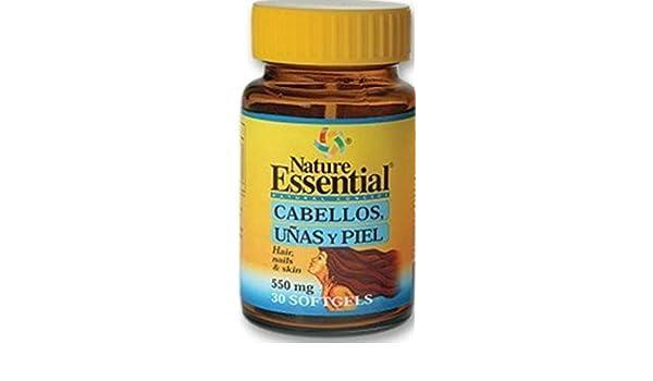 Nature Essential Cabellos, Uñas y Piel 540 mg 30 Cáps. Blandas: Amazon.es: Salud y cuidado personal
