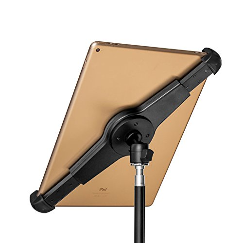 GRIFITI Nootle Large Universal Tablet Mount Adjustable Stand, Mini Ball Head, Case for Standard to Large iPads, iPad Pro, and Other Tablets