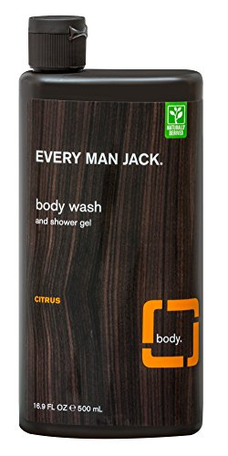 Every Man Jack Body Scrub  Citrus  16 9 Fluid Ounce
