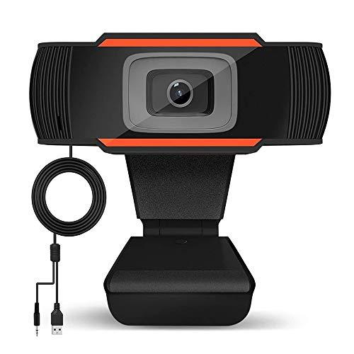 🥇 Tanouve 720P Webcam – Cámara Web 720P con Micrófono