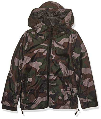 Urban Republic Big Boys MESH CAMO Jacket, Olive, 8