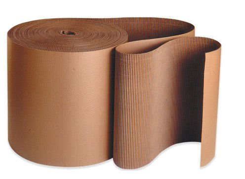Aviditi A Flute Single Face Corrugated Roll, 250' X 12