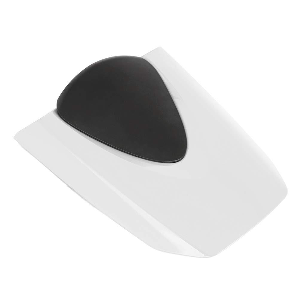Motorcycle Rear Seat Cowl Passenger Pillion Fairing Tail Cover For Honda CBR600RR 2007-2012 White