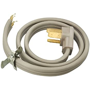 Coleman Cable 09014  Wire Range Power Cord 4 Foot