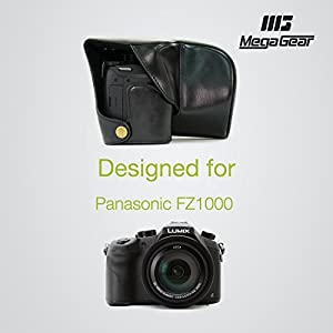 "MegaGear ""Ever Ready"" Protective Leather Camera Case, Bag for Panasonic FZ1000"