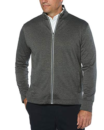 Callaway Men's Golf Full Zip Long Sleeve Waffle Knit Fleece Jacket Coat