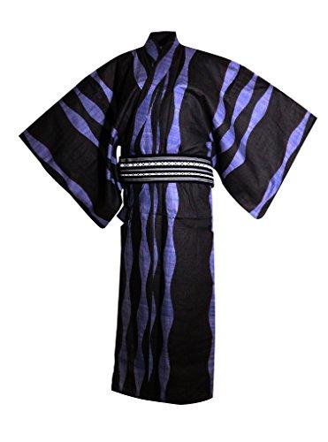 myKimono Men's Traditional Japanese Kimono Robe Yukata for sale  Delivered anywhere in USA