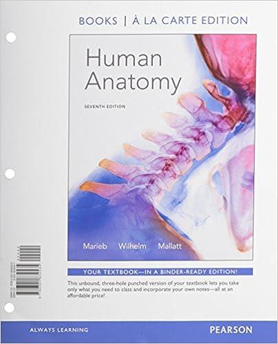 Amazon.com: Human Anatomy, Books a la Carte Edition (7th Edition ...