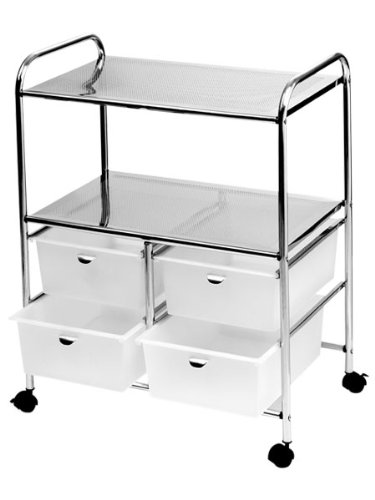 Pibbs D4W Work Cart - White by Pibbs