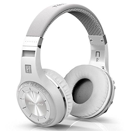 Bluedio HT Turbine  Shooting Brake  Wireless Bluetooth 4.1 Stereo Headphones with Mic  White