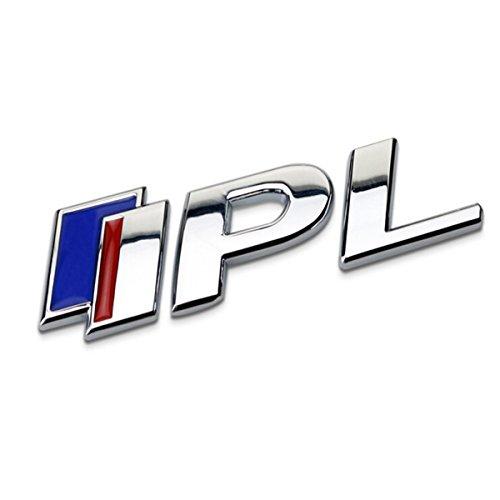 TK-KLZ For Infiniti 3D Metal High Performance Logo - IPL - Infiniti Performance Line - Premium Car Side Fender Rear Trunk Emblem Badge for Infiniti Q50 FX35 FX37 F50 G37 QX70 QX60 EX35 G35 Decoration