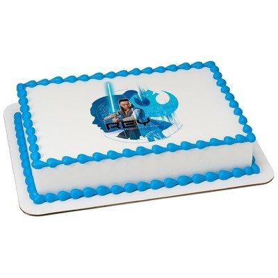 Star Wars Rey Last Jedi Licensed Edible Cake Topper #21547