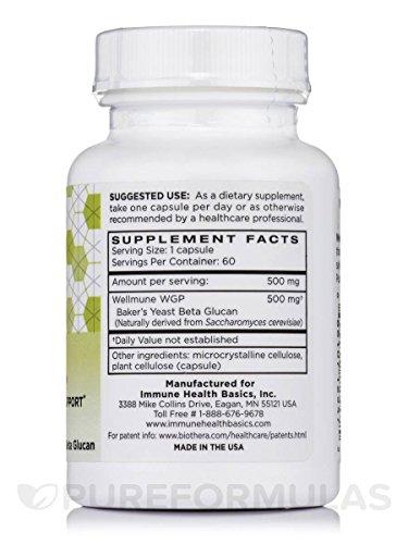 Immune Health Basics125 mg 60 Capsules