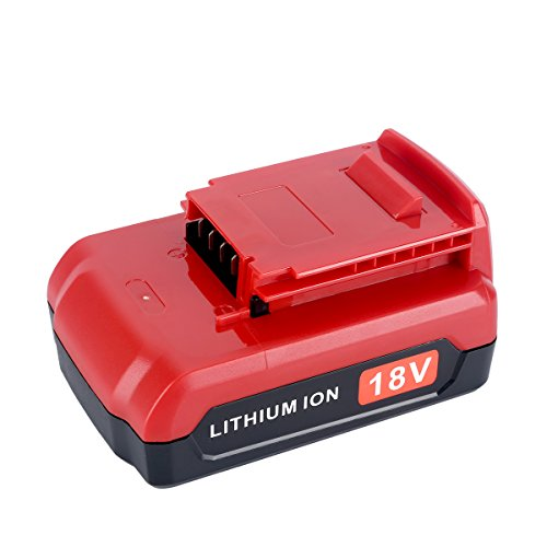 Lasica Replace Lithium Ion for Porter Cable 18V 2.0Ah Battery PC18B PC18BL PC18BLX Cordless Tools Batteries by Lasica