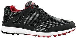 Callaway Men's Balboa Vent 2.0 Golf Shoe, Blackwhitered, 10 D D Us