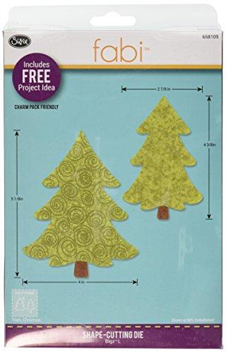 Sizzix Bigz Die, Trees, Christmas by E.L. Smith