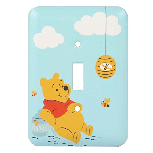 Disney Winnie Pooh Collectible Plate (Winnie The Pooh Switch Plate)