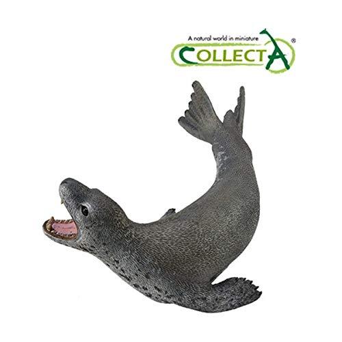 Collecta Korea COLLECTA 88806 Leopard Seal Miniature Animal Figure Toy