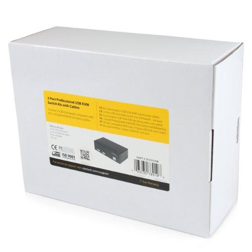 StarTech 2 Port Professional USB KVM Switch Kit with Cables (SV231USB) by StarTech (Image #3)