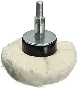Krittapas Intertrade Rueda de algodón para pulir cúpula de 85 mm ...