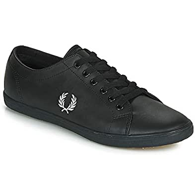 Fred Perry Kingston, Men's Shoes, Black, 8 UK (42 EU)
