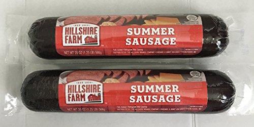 Hillshire Farm Classic Summer Sausage, 20 oz. (1.25 lb), 2-Pack
