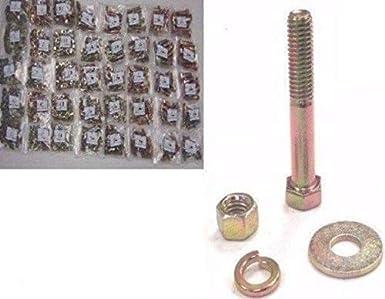 Fine Thread Bolts >> 1496 Pc Grade 8 Fine Thread Bolt Nut Washer Assortment Amazon