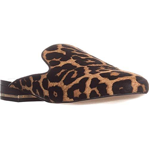 MICHAEL Michael Kors Womens Natasha Closed Toe Casual, Natural/Black, Size 5.0 ()