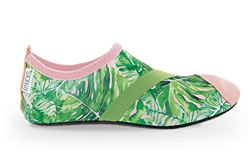 FitKicks Active Footwear For Women, Special Edition - Coco Palm - Medium Coco Footwear