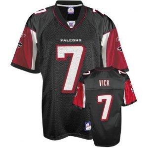 Youth XLarge Michael Vick Black Reebok NFL Replica Atlanta Falcons Youth Jersey ()