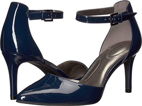 Bandolino Women's GINATA Pump, Navy, 9 Medium US
